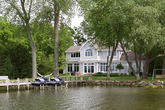 Pinnacle Tree Professional Arborists can protect your shoreline while enhancing your waterfront view.